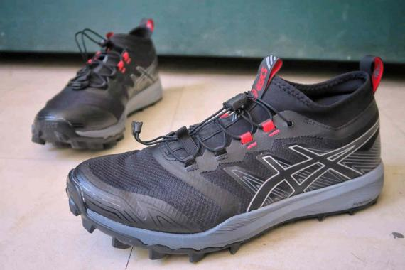 test chaussure asics trail