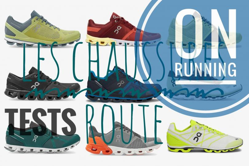 Tests des chaussures On Running - CloudFlyer, CloudFlow, CloudSurfer...