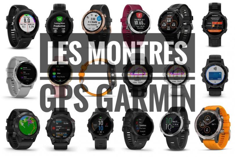 Les tests des montres GPS Garmin