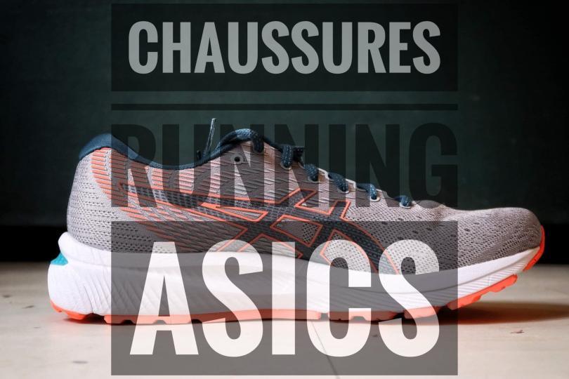 Les tests de chaussures de running Asics