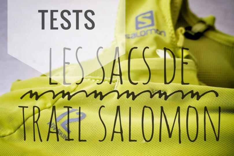 Tests des sacs de trail Salomon