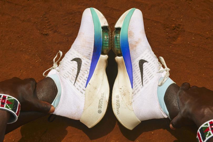 Le test des Nike Air Zoom Tempo Next% par Eliud !