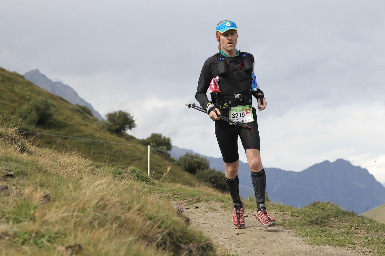 La descente du Grand Col Ferret vers La Fouly