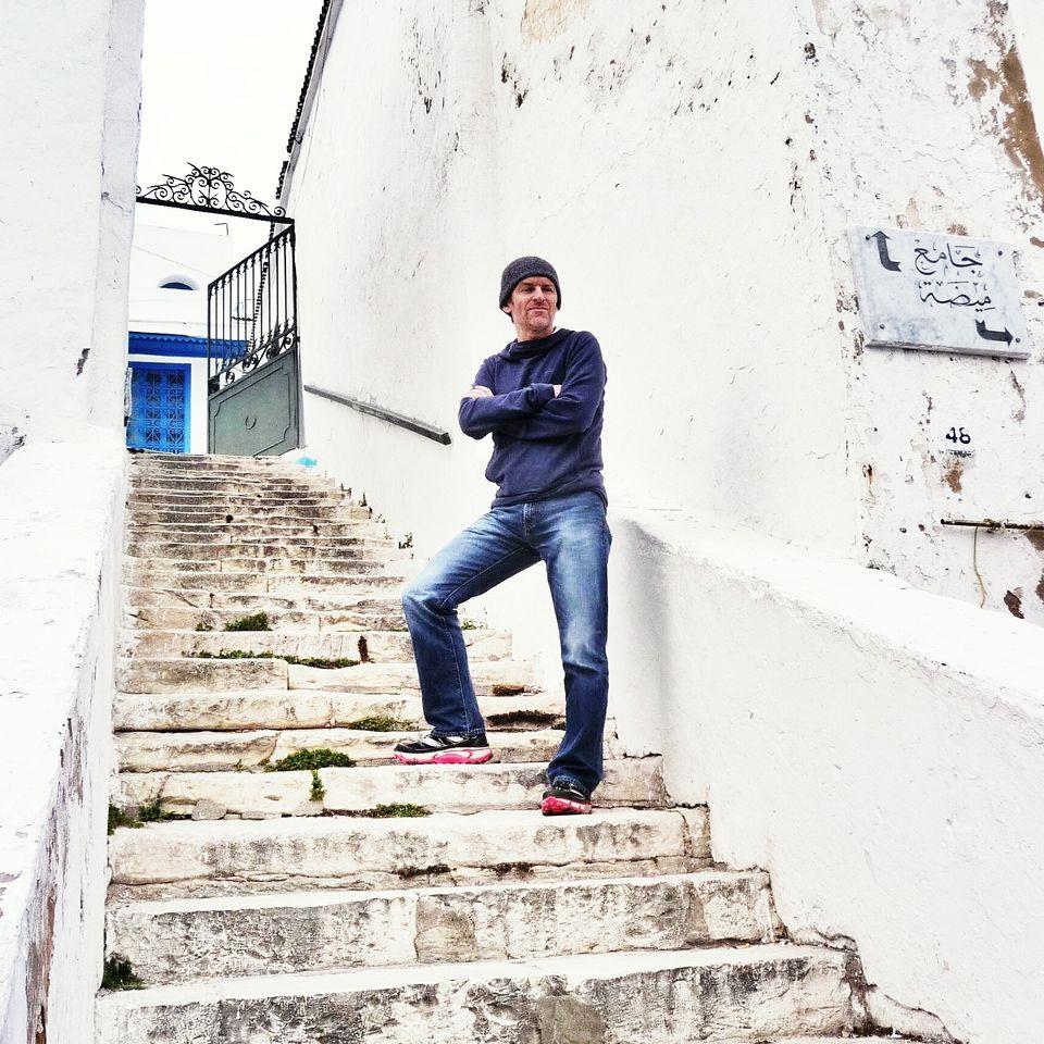 Autoportrait à Sidi Bou Saïd