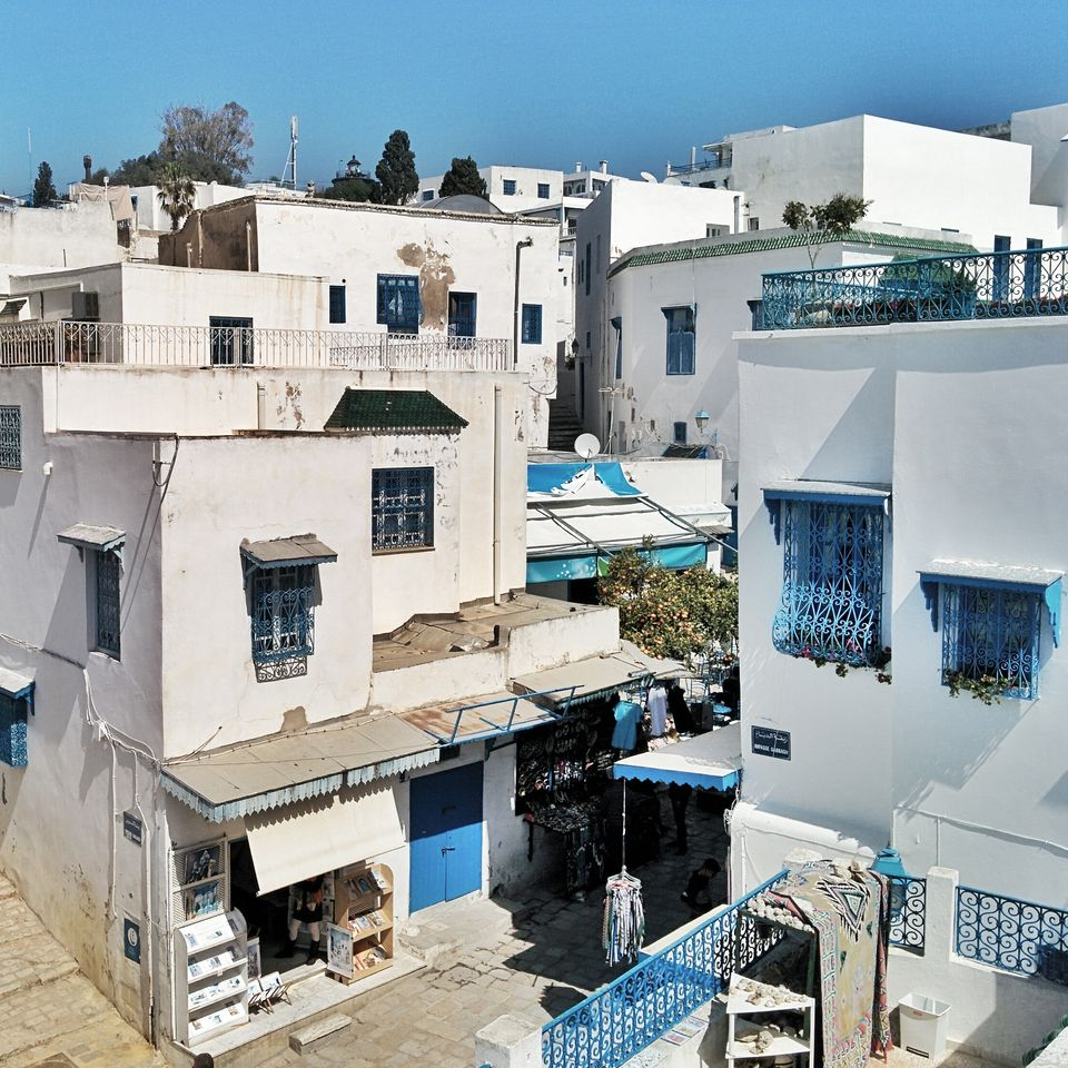 Les toits de Sibi Bou Saïd