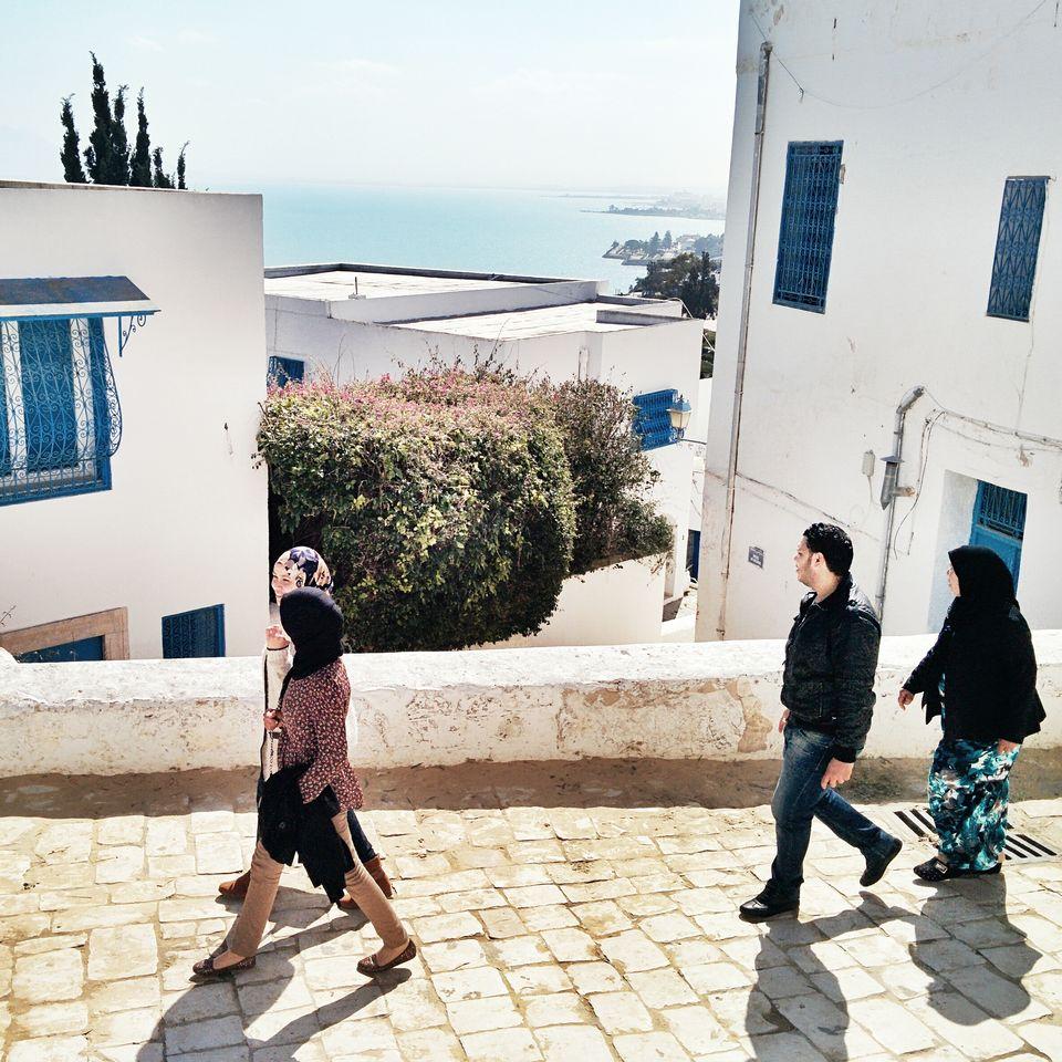 Balade dans Sidi Bou Saïd