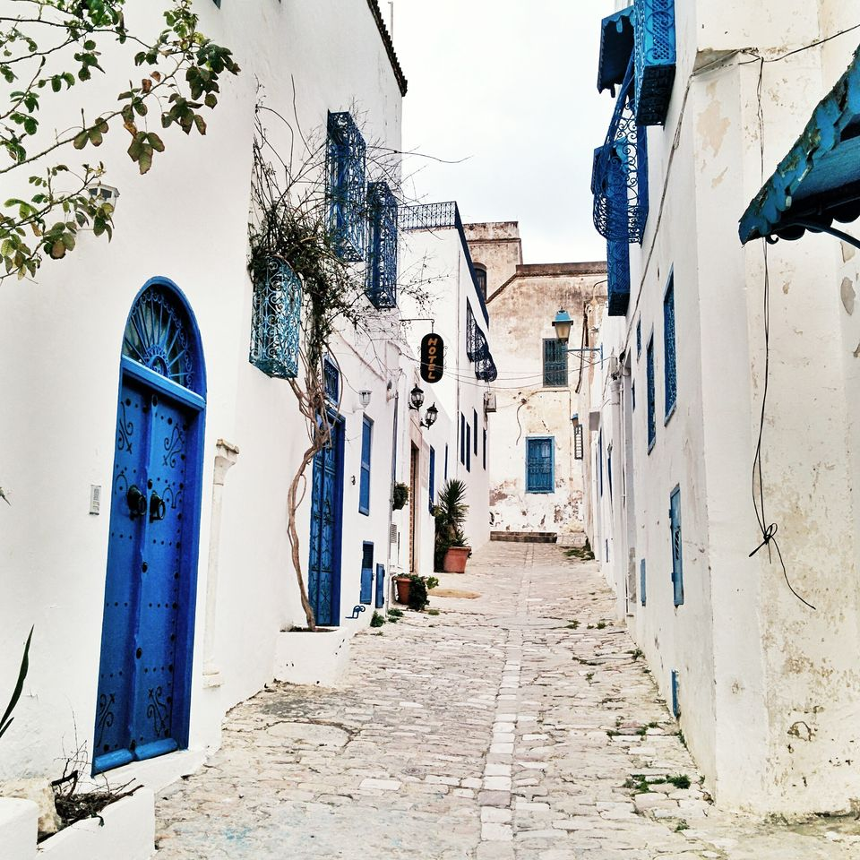 Ruelle de Sidi Bou Saïd