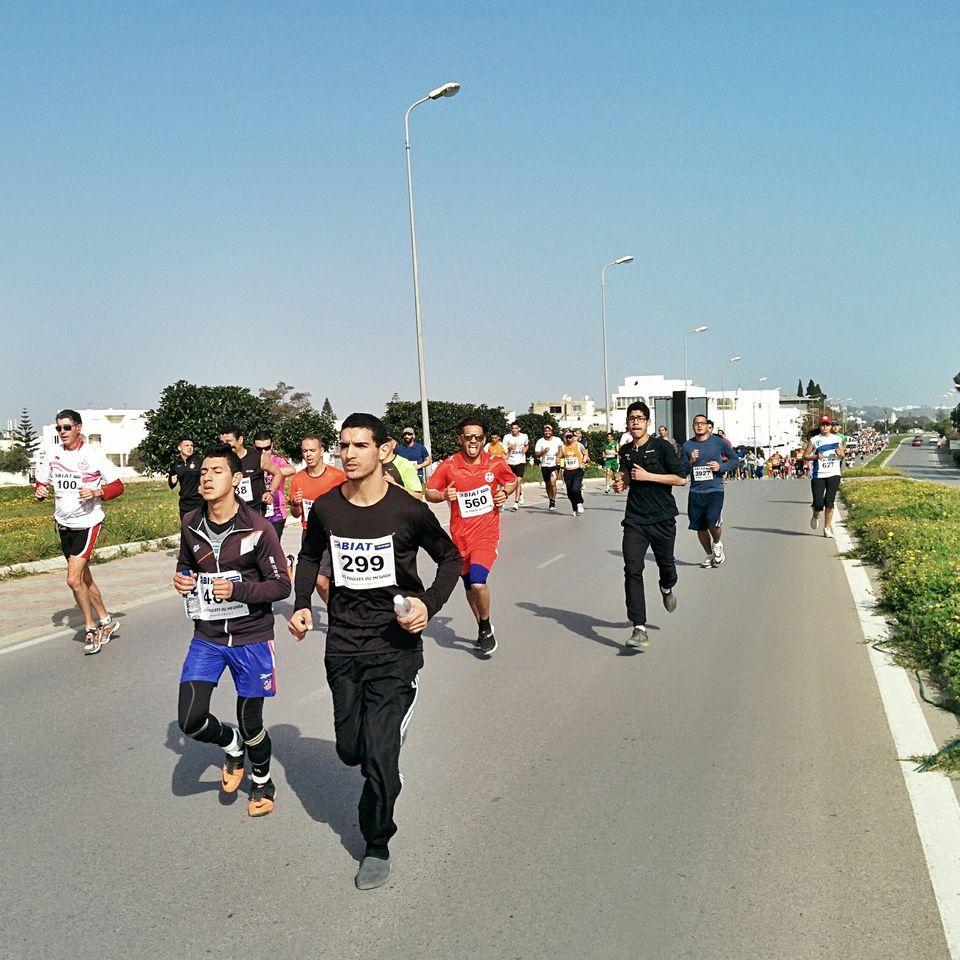 Faux rythme au Semi Marathon