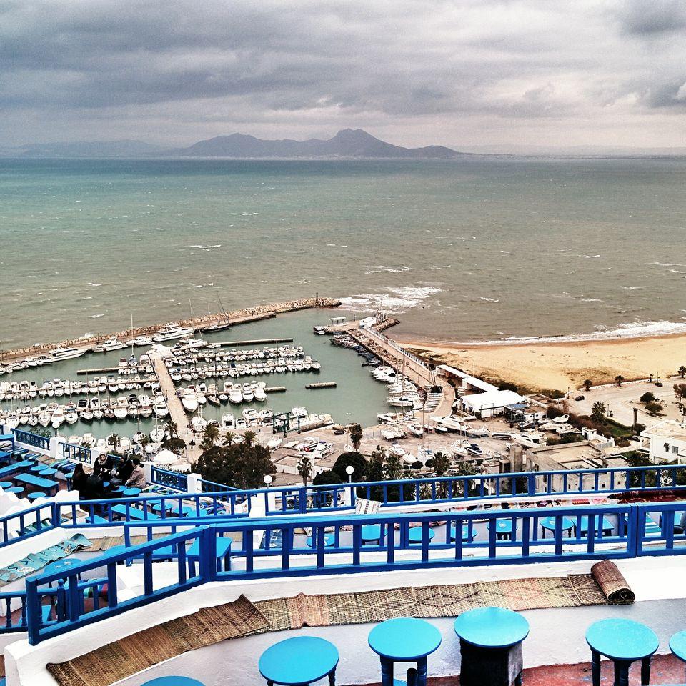 Vue sur le Cap Bon depuis Sidi Bou Saïd